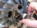Solex flywheel plate